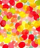 Предпосылка от пестротканой конфеты Стоковые Изображения RF