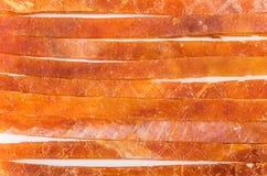 Предпосылка от ручек высушенных рыб Стоковые Изображения