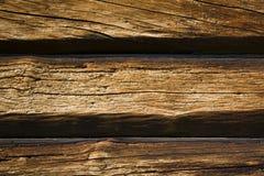 Предпосылка от старых деревянных балок Стоковое Фото