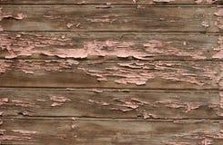 Старая покрашенная предпосылка планок Стоковое Изображение