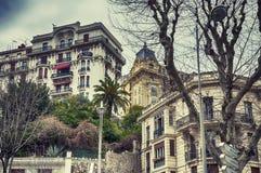Предпосылка от славного, Франция зданий Стоковые Фотографии RF