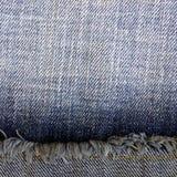 Предпосылка от ткани джинсов Стоковое Изображение RF