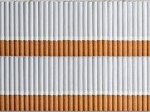 Предпосылка от 2 чисел сигарет Стоковая Фотография RF