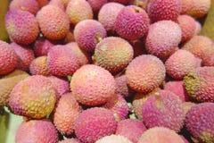 Предпосылка от lychees стоковое фото