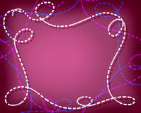 Предпосылка очарования в розовых тонах Стоковая Фотография RF