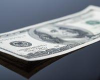 Предпосылка долларовой банкноты Стоковая Фотография
