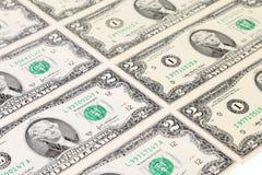 Предпосылка 2 долларовых банкнот. Стоковая Фотография