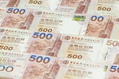 Предпосылка долларов Гонконга Стоковое Изображение