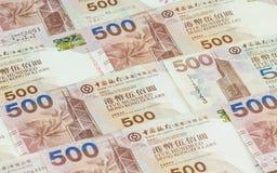 Предпосылка долларов Гонконга Стоковое Изображение RF