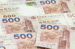 Предпосылка долларов Гонконга Стоковое фото RF