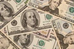 Предпосылка долларов денег Стоковое Фото