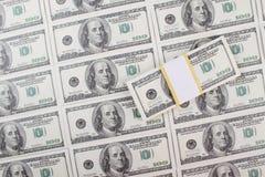 Предпосылка долларов денег Стоковые Фотографии RF