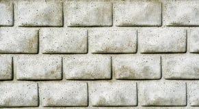 Предпосылка пакостной серой кирпичной стены безшовной Стоковое Изображение