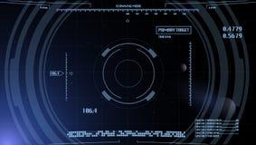 Предпосылка панели компьютера Стоковая Фотография RF