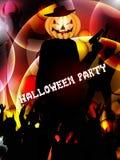 Предпосылка партии хеллоуина Стоковая Фотография