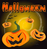 Предпосылка партии хеллоуина Стоковые Изображения RF