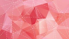 Предпосылка пастельного цвета низкая поли Стоковое Изображение RF