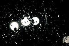 предпосылка падает вектор дождя Стоковая Фотография