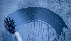 предпосылка падает вода Стоковое Изображение