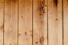 Предпосылка палубы планки естественного цвета деревянная Стоковые Изображения