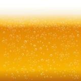 Предпосылка пены пива Стоковая Фотография