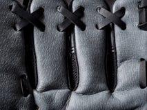 Предпосылка перчатки бейсбола Стоковое фото RF