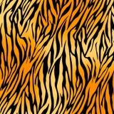 Предпосылка печати тигра Стоковые Изображения