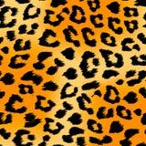Предпосылка печати тигра Стоковые Фото