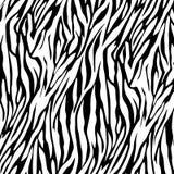 Предпосылка печати тигра Стоковое фото RF