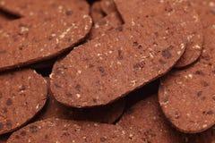Предпосылка печений шоколада Стоковые Изображения RF
