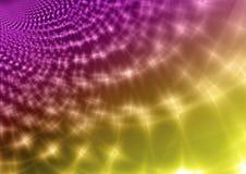 Предпосылка пинка и желтого цвета абстрактная прозрачная Стоковое фото RF