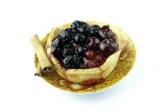 Предпосылка пирога плодоовощ Стоковые Изображения