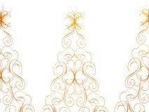 Предпосылка поздравительной открытки рождества Стоковое Изображение