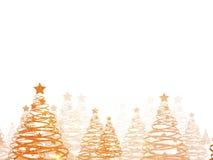 Предпосылка поздравительной открытки рождества Стоковая Фотография