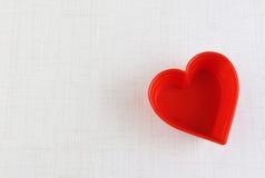 Предпосылка поздравительной открытки сердца дня валентинки Стоковые Изображения RF