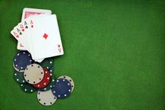 Предпосылка покера стоковые изображения rf