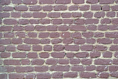 Предпосылка покрашенная кирпичной стеной Стоковые Фотографии RF