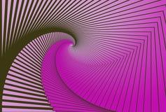 Предпосылка покрашенная конспектом в форме спирали Стоковое фото RF