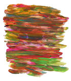 Предпосылка покрашенная рукой пестротканая Стоковое Изображение RF