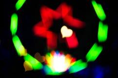 Предпосылка - покрашенная светлая группа Стоковые Фотографии RF