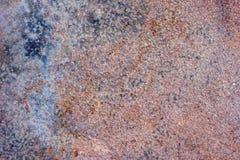 Предпосылка покрашенного ржавого листа железного листа Стоковое Изображение