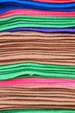 Покрашенная ткань Стоковое Изображение