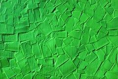 Предпосылка покрашенных зеленых сломанных плиток Стоковое Изображение RF