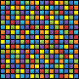 Предпосылка покрашенных квадратов Стоковые Изображения