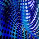 Предпосылка поставленная точки синью Иллюстрация вектора