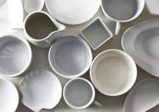 Предпосылка посуды Стоковое Изображение RF