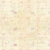 Предпосылка почерка с чертежами стрелки Стоковая Фотография RF