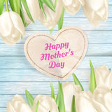 Предпосылка подарка дня матерей 10 eps Стоковое фото RF