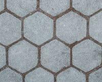 Предпосылка пола блока плиток цемента улицы картины Стоковая Фотография RF