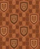 Предпосылка подготовляет коричневый цвет Иллюстрация штока